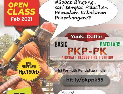 PENGUMUMAN PENDAFTARAN BASIC PKP-PK ANGKATAN 35