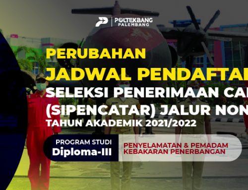 Perubahan Jadwal Pendaftaran Seleksi SIPENCATAR Jalur Non Reguler TA 2021/2022